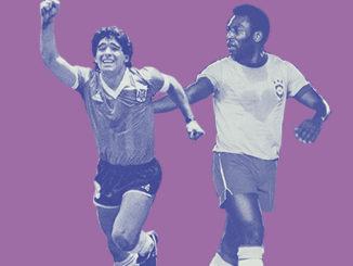 Pele a Maradona