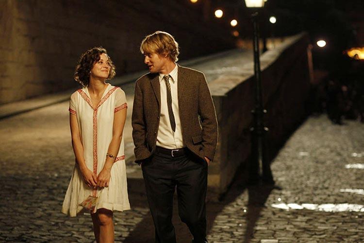 Woody Allen y Owen Wilson en Paris a la medianoche