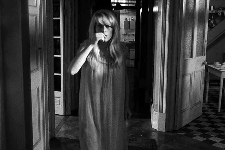 Catherine Denueve, protagonista de Repulsion de Roman Polanski