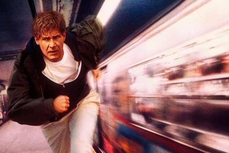 El fugitivo con Harrison Ford