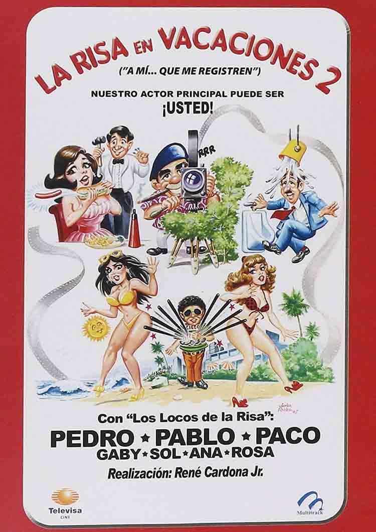 La risa en vacaciones de las peores películas mexicanas