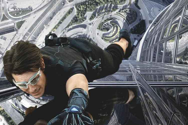Mision imposible con Tom Cruise