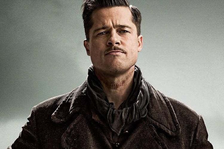 Brad Pitt en Bastardos sin gloria es de los mejores personajes de Quentin Tarantino