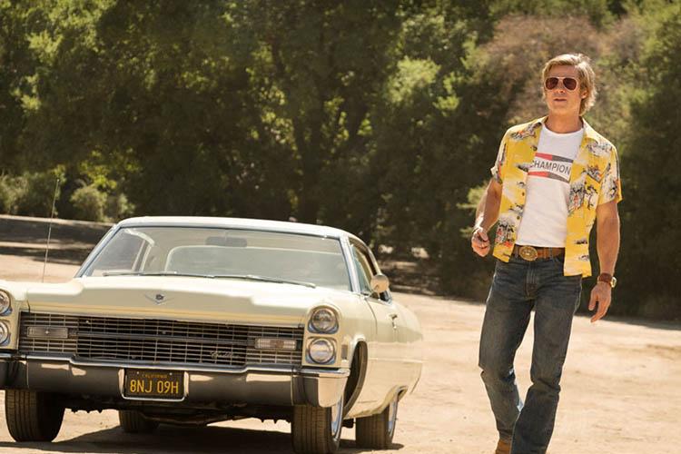 Brad Pitt y Tarantino