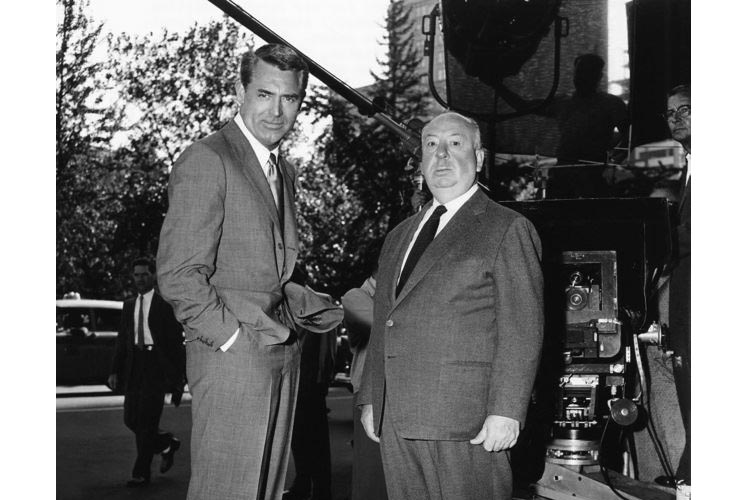 Director y actor: hithccock y cary grant