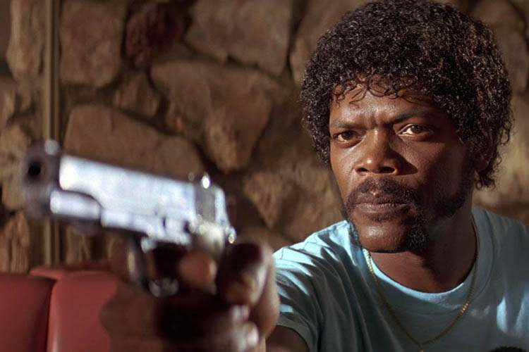 Samuel L Jackson en Pulp Fiction es de los mejores personajes de Quentin Tarantino