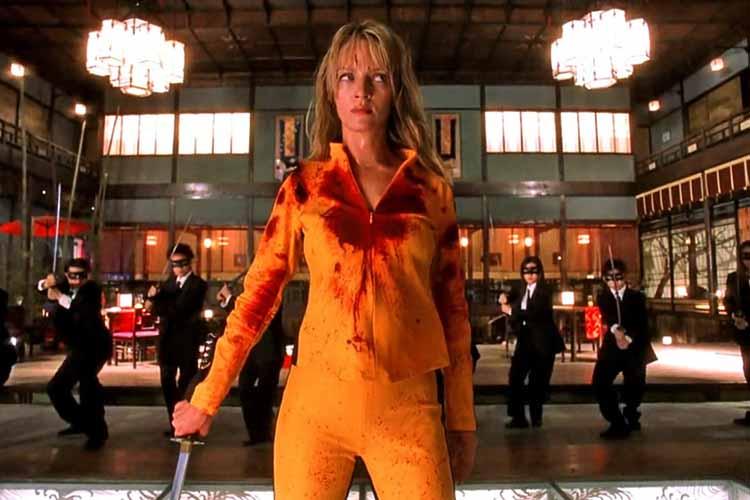 Uma Thurman como Beatrix Kiddo los mejores personajes de Quentin Tarantino