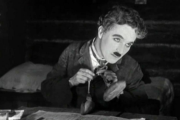 Comida en el cine- Chaplin