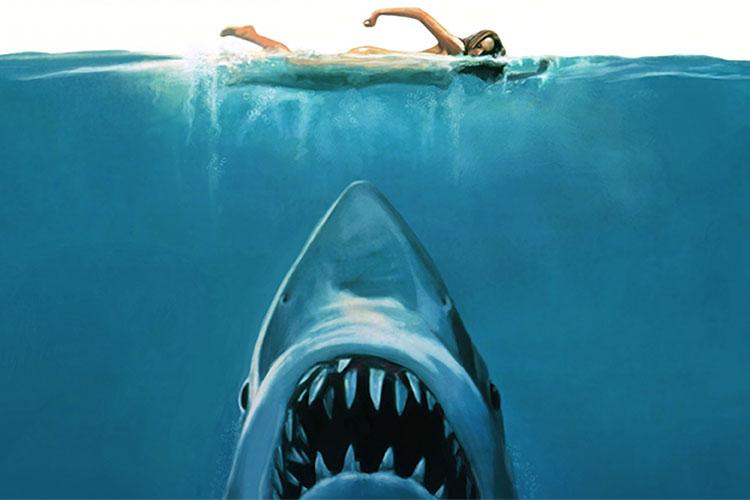Un tiburón de Spielberg como cine de terror