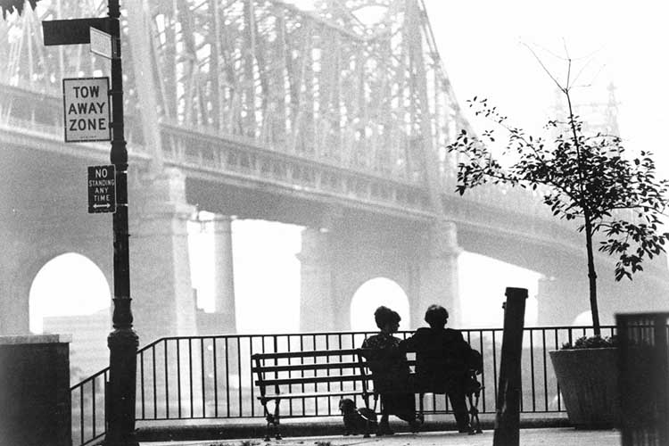 Woody Allen Manhattan pelicula