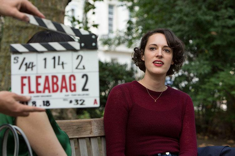 En la filmación de Fleabag
