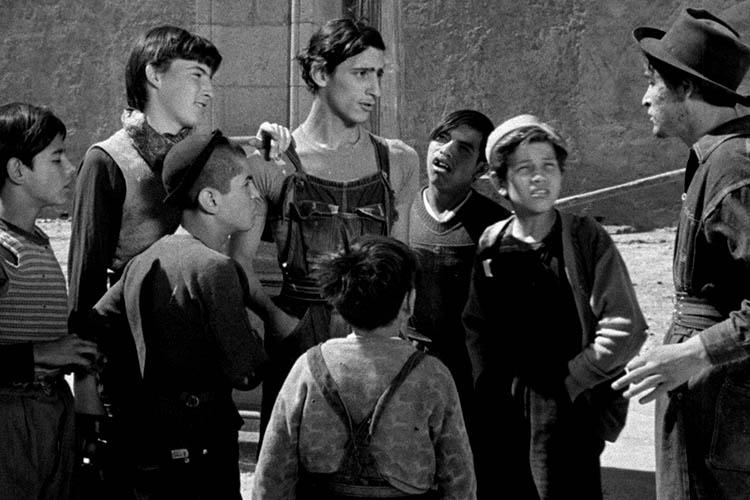 Los olvidados de Luís Buñuel