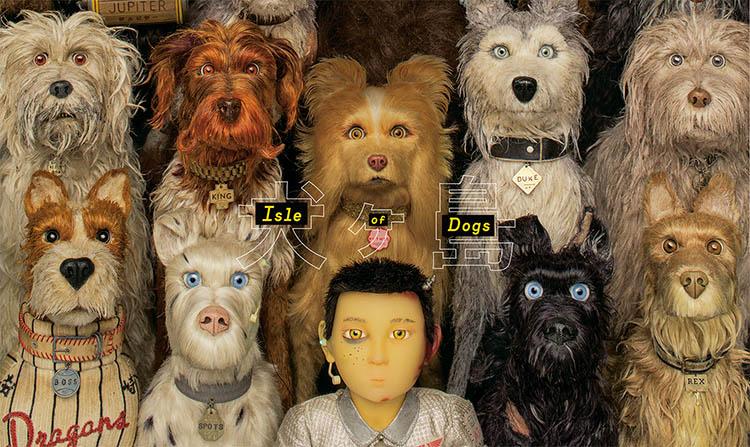 Mejores películas de la década: isle of dogs