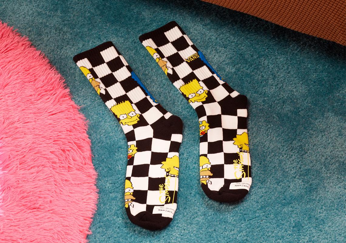 Simpsons-y-Vans-calcetines